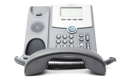 IP phone off the hook