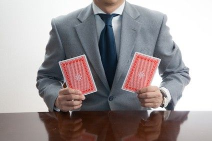 Red Cards - Magician