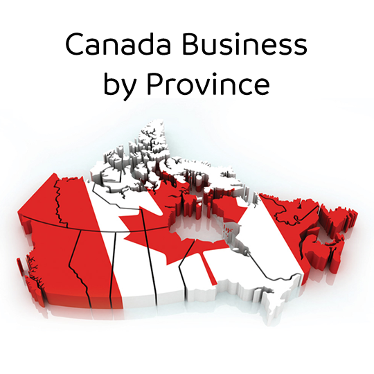 Canada Telemarketing Business List by Province
