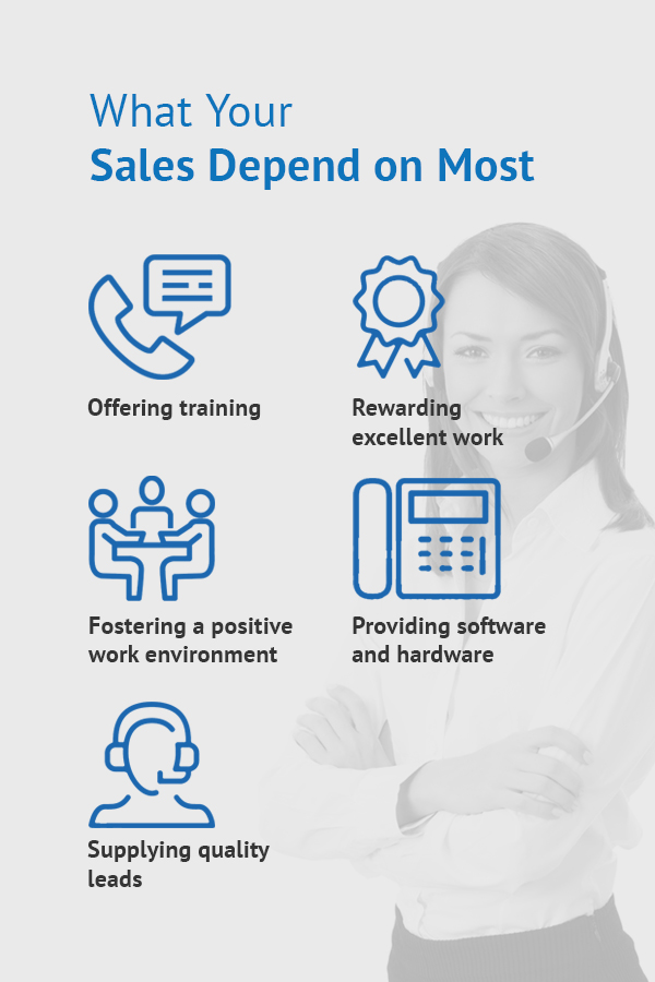 what your sales depend on most