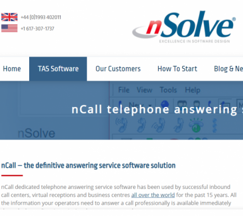 nsolve_virtual_receptionist_software