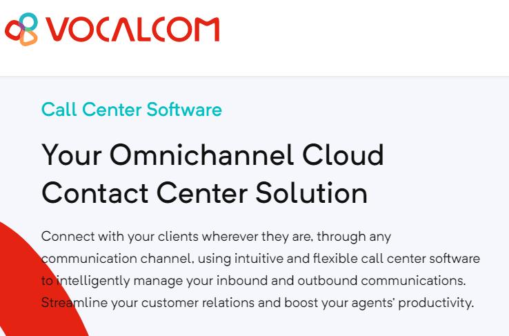 vocalcom cloud call center