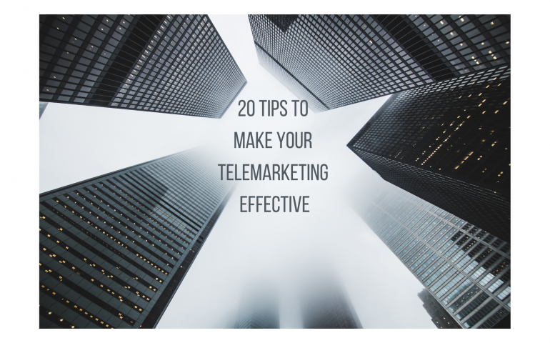 Effective Telemarketing